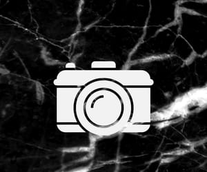 black and white, camera, and foto image