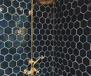 bathroom, house, and shower image