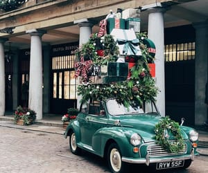 aesthetics, cars, and christmas image