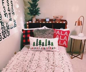 decor, room, and winter image