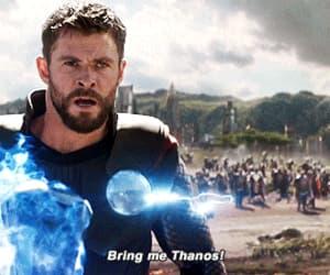 Avengers, chris hemsworth, and gif image