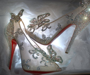 cinderella, shoes, and louboutin image