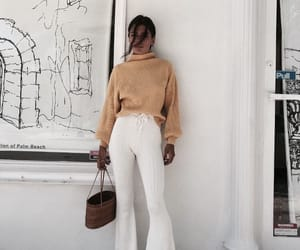 clothes, legs, and turtleneck image