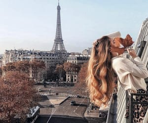 autumn, france, and girl image