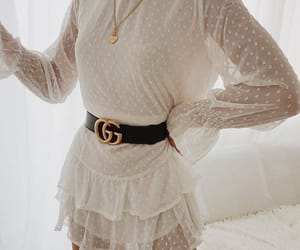 dress, fashion, and gucci image