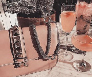 girly inspo, pink+girly+glam, and drinks+food image