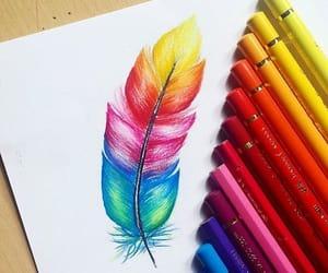 art, beautiful, and pens image