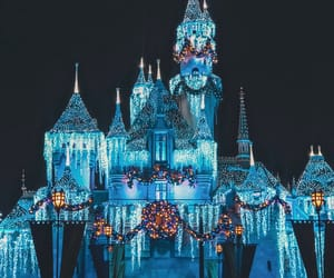 castle, holidays, and magical image