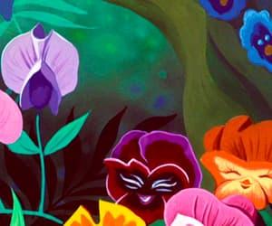 background, alice in wonderland, and disney image