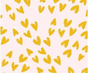 wallpaper, yellow, and pattern image