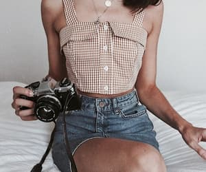accessory, camera, and hotpants image