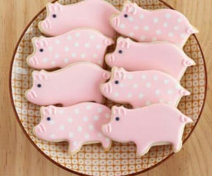 Cookies, girls, and pigs image