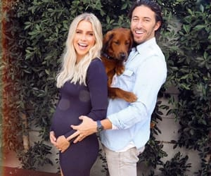 dog, pregnant, and claire holt image