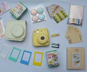 fujifilm, polaroid, and instax mini image