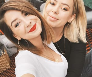 beauty, girls, and zoe sugg image