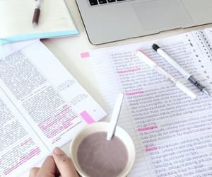 coffee, college, and homework image