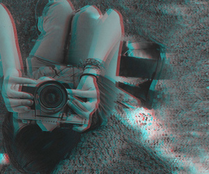 3d, girl, and photography image