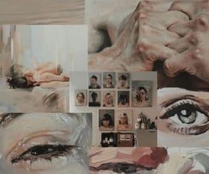 aesthetic, eye, and wallpaper image