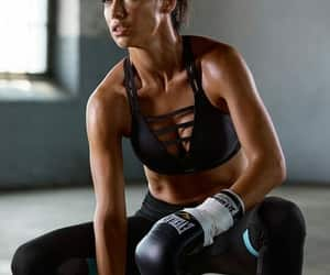 workout, Adriana Lima, and model image