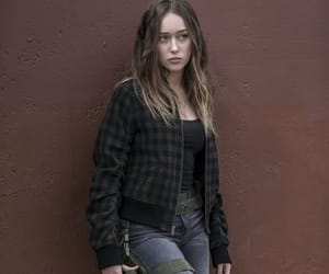 girl, photo, and fear the walking dead image