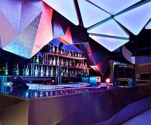 bar, nightclub, and neon image