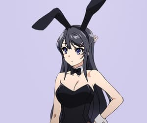 anime, bunny, and bunny girl image
