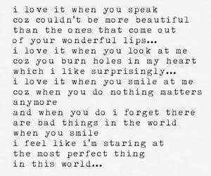 beautiful, smile, and speak image