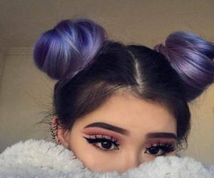 hair and pigtails image