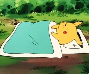 anime, pikachu, and gif image