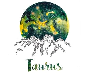 article, taurus, and zodiac image