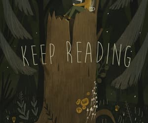 aesthetic, the forest, and books image