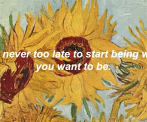 sunflower, grunge, and quotes image