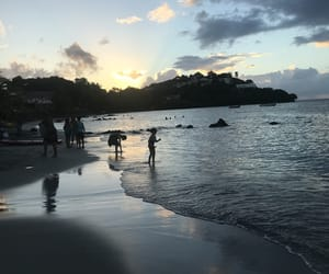 beach, martinique, and OMG image