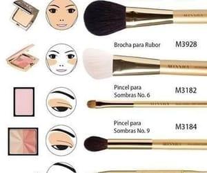 brush, man, and make up image