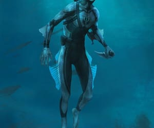 aquatic, underwater, and merman image