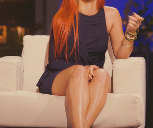 dress, orange hair, and pretty image