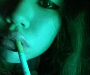 cigarette, lights, and night image