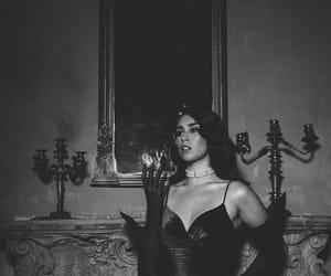 lauren jauregui, fifth harmony, and black and white image