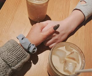 aesthetic, boyfriend, and iced coffee image
