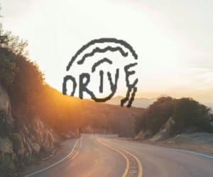 aesthetic, badlands, and drive image