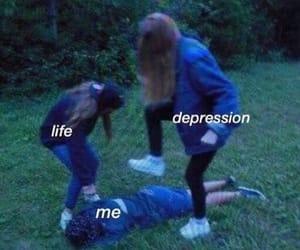 meme, depression, and funny image