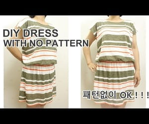 dress, Easy, and sew image