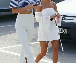 fashion, kourtney kardashian, and kendall jenner image