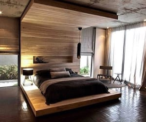 bedroom, interior, and outfit image