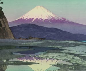 art, japan, and nature image
