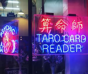 japanese, lights, and neon lights image