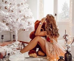christmas, gifts, and lights image