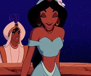 aladdin, castle, and jasmine image