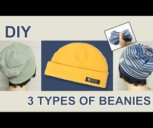 hat, video, and sewingtimes image