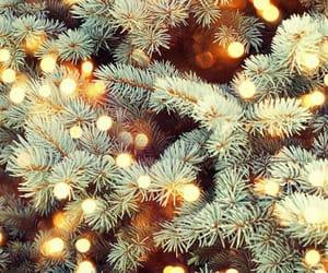 christmas, lights, and wallpaper image